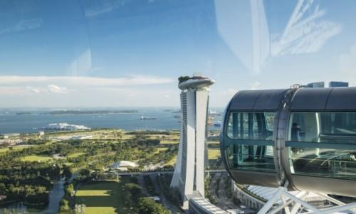 Zdjecie SINGAPUR / Singapur / Singapur / Singapore Flyer