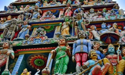 Zdjecie SINGAPUR / -Marina Sands / Gardens by the Bay / Świątynia hinduistyczna w dzielnicy China Town w Singapurze