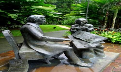 Zdjecie SINGAPUR / Singapur / Ogród Botaniczny / Chopin w Singapurze