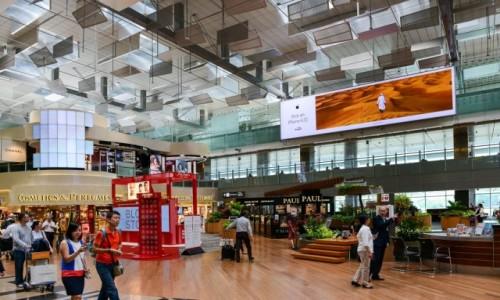 Zdjecie SINGAPUR / Singapur / Lotnisko / Lotnisko w Singapurze