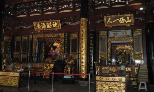 Zdjecie SINGAPUR / dzielnica chińska / Świątynia / Thai Hock Keng Temple