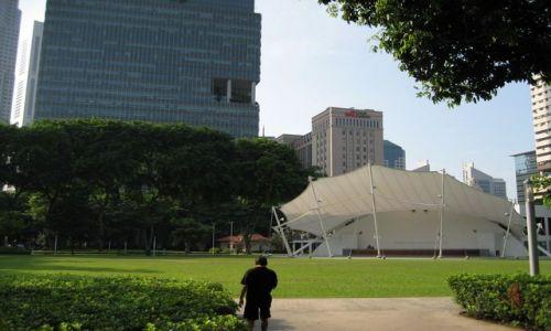Zdjecie SINGAPUR / dzielnica chi�ska / Park / Hong Lim Park