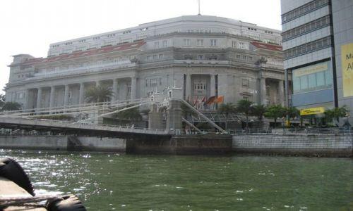Zdjecie SINGAPUR / Nabrzeze / centrum miasta / Najstarszy Angielski Hotel