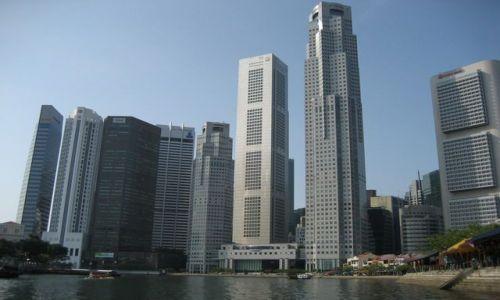 Zdjecie SINGAPUR / Nabrzeze / centrum miasta / Drapacze Chmur