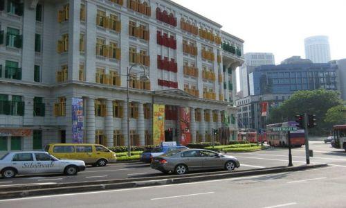 Zdjecie SINGAPUR / Nabrzeze rzeki / centrum miasta / Dom kolorowych okien