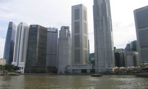 Zdjecie SINGAPUR / brak / singapur / wieżowce