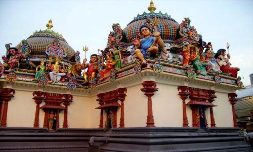 Zdjęcie SINGAPUR / Singapur / dzielnica chińska / Hinduska świątynia w Chińskiej Dzielnicy