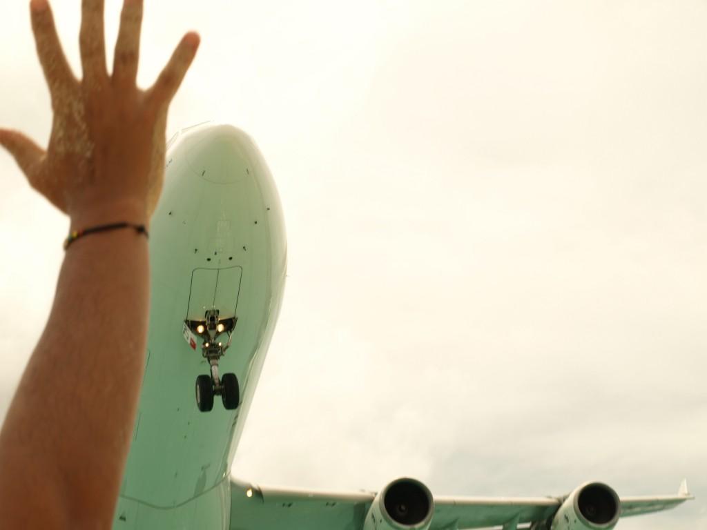 Zdjęcia: Karaiby, Plaża Maho, Sint Maarten - Samolot w zasięgu ręki, SINT MAARTEN (Holandia)