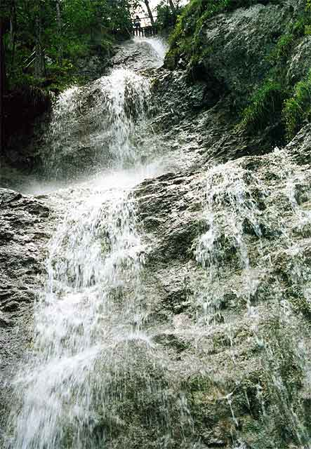 Zdjęcia: Zawojowy Wodospady, Słowacki Raj, Zawojowy Wodospad, SłOWACJA