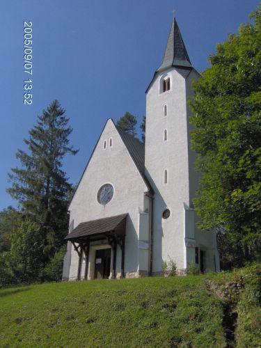 Zdjęcia: Tatrzańska Łomnica, Tatry słowackie, Kościółek w TATRZAŃSKIEJ ŁOMNICY, SłOWACJA