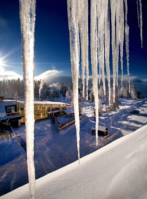 Zdjęcia: Szczyrbskie Jezioro, Tatry, mrozny poranek, SłOWACJA