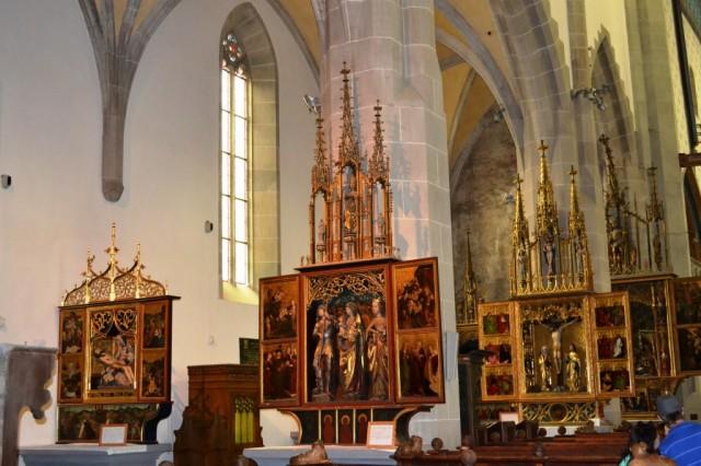 Zdjęcia: Bardejów, KRAJ PRESZOWSKI, Wnętrze Bazyliki św. Egidia, SłOWACJA