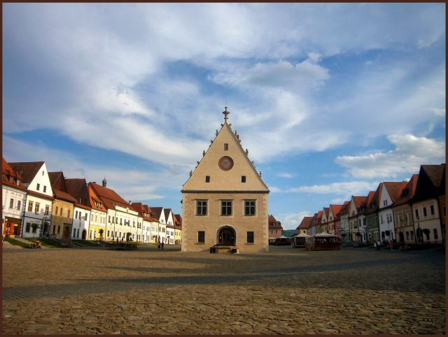 Zdjęcia: Bardejov, Spisz, Rynek, SłOWACJA