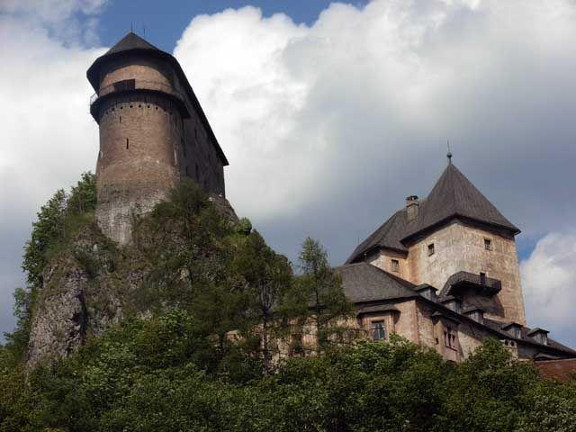 Zdjęcia: Oravsky Podzamok, Oravska Magura , Oravsky Podzamok, SłOWACJA