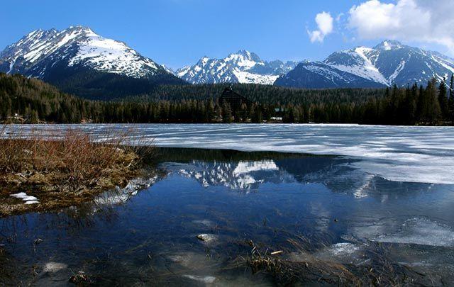Zdjęcia: Szczyrbskie Jezioro , Tatry Wysokie, ..., SłOWACJA
