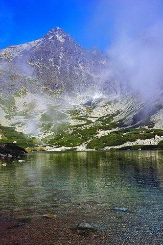 Zdjęcia: widok na szczyt Łomnicy , Tatry Wysokie , ..., SłOWACJA