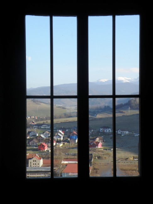 Zdjęcia orawskie podzamcze kraj żylinski widok z zamku orawskiego