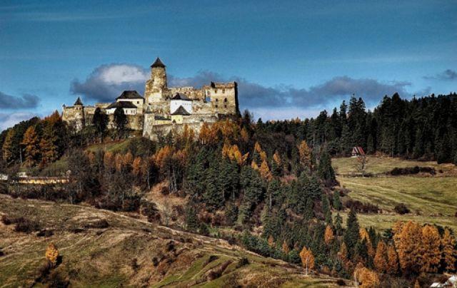 Zdj�cia: Stara Lubowla , wschodnia S�owacja, w kraju preszowskim, ..., S�OWACJA