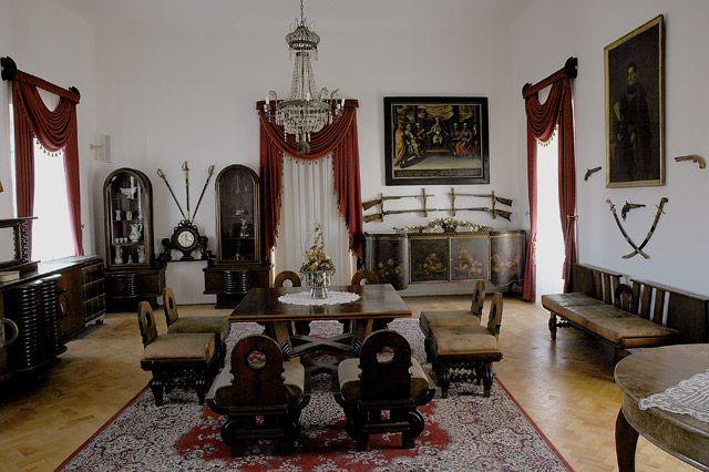 Zdj�cia: Zamek w Starej Lubowli. , wschodnia S�owacja -Spisz, ..., S�OWACJA