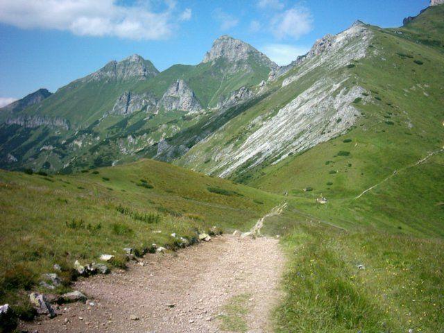 Zdjęcia: Przełęcz pod Kopą, Tatry Wysokie, Tatry Bielskie, SłOWACJA