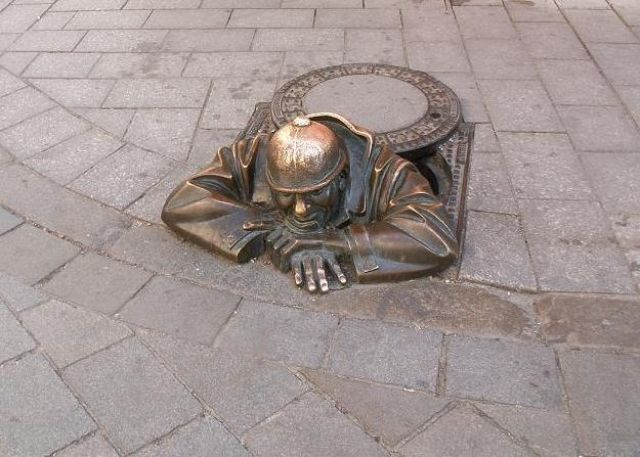 Zdjęcia: Bratysława, Słowacja Zachodnia, Pomnik na starym mieście, SłOWACJA