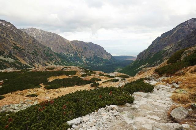 Zdjęcia: Dolina Mięguszowiecka, Wysokie Tatry, Powrót, SłOWACJA