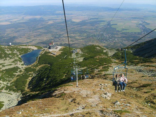 Zdjęcia: Przełęcz pod Łomnicą, Tatry Słowackie, Kolejka, SłOWACJA