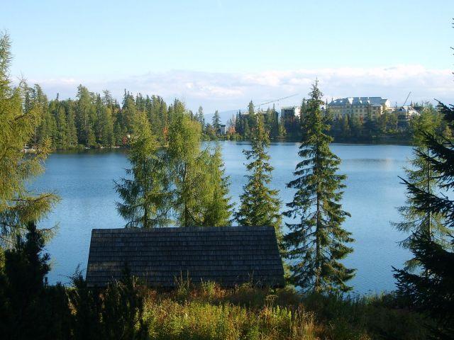 Zdjęcia: Szczerbskie Pleso, Tatry , Nad jeziorem3, SłOWACJA