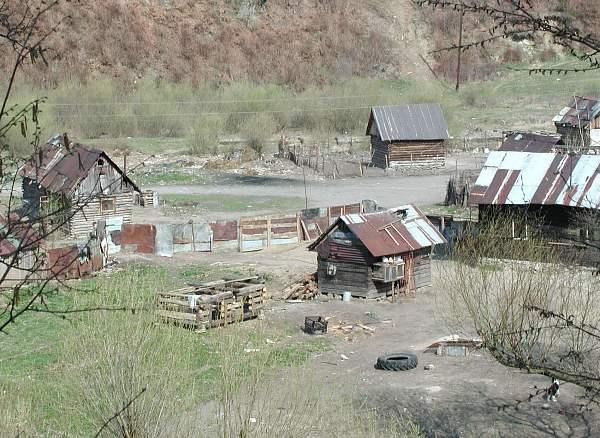 Zdjęcia: Zapomniana osada gdzieś na Spiszu ..., Spisz, Słowacja mniej znana - osada cygańska na Spiszu, SłOWACJA