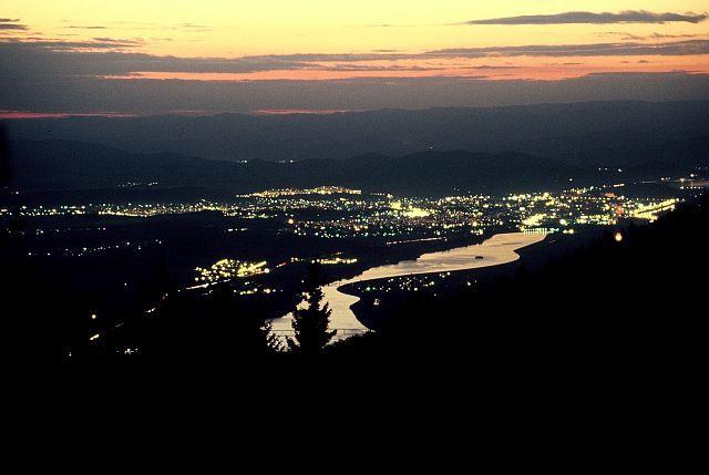 Zdjęcia: Streczno i rzeka Wag, Mała Fatra, Mleczna Droga, SłOWACJA