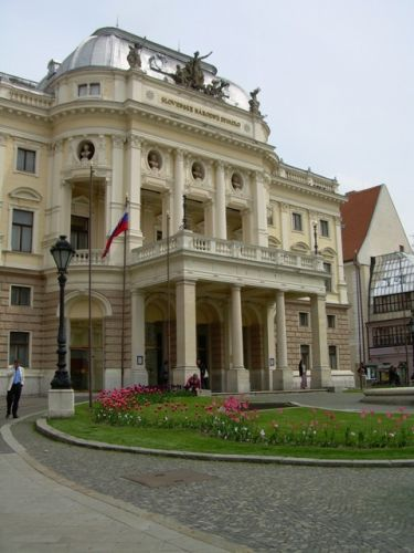 Zdjęcia: Stare Miasto, Bratysława, Slovenske Narodove Dyvadlo, SłOWACJA