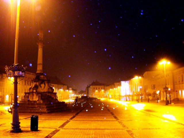 Zdjęcia: Bańska Bystrzyca, B. B. Kraj, Pada Śnieg, SłOWACJA