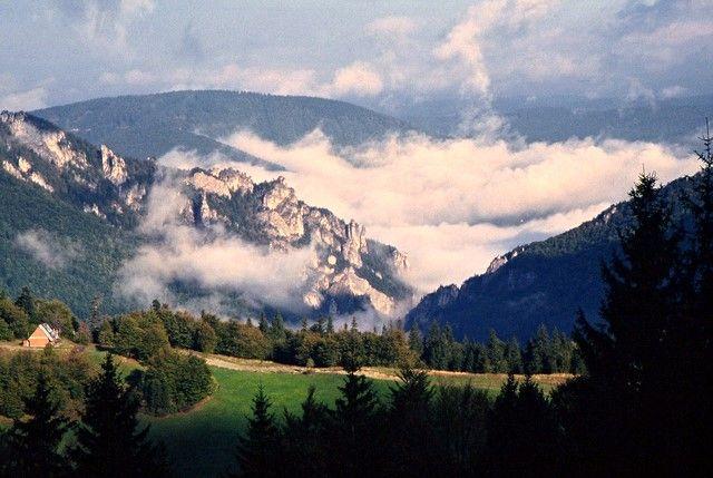 Zdjęcia: Dolina Vratna, Mała Fatra, Janosikowa Dolina, SłOWACJA