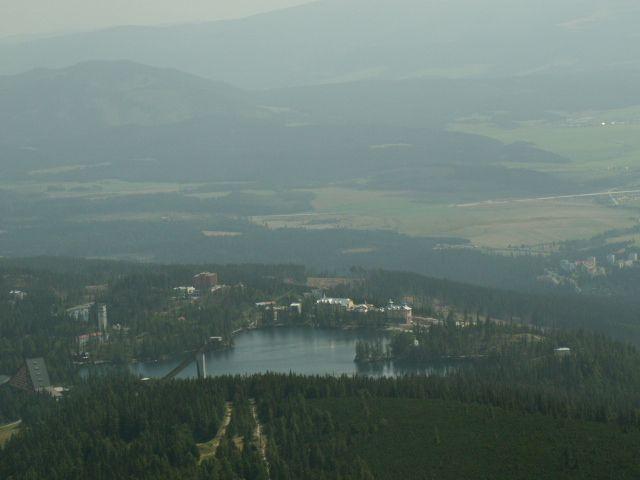 Zdjęcia: Szczyrbskie Jezioro, Tatry, Zamglone, SłOWACJA