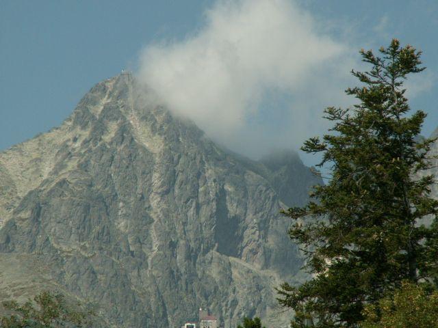 Zdjęcia: Szczyrbskie Jezioro, Tatry, Prawie w chmurach, SłOWACJA