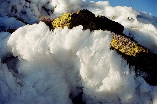 Zdjęcia: Chabenec, Nizke Tatry, pierwszy śnieg, pierwszy lód, SłOWACJA