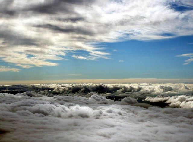 Zdjęcia: Droga na Gerlach, Tatry Wysokie, Między chmurami, SłOWACJA