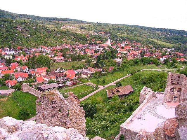 Zdjęcia: Bratysława, Zamek w Devin - widok na miasto, SłOWACJA