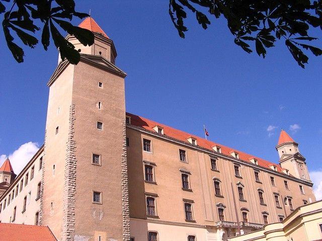 Zdjęcia: Bratysława, Zamek w Bratyslawie, SłOWACJA