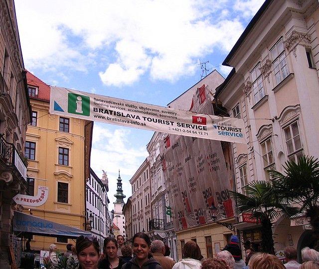 Zdjęcia: Bratysława, ulica w Bratyslawie, SłOWACJA