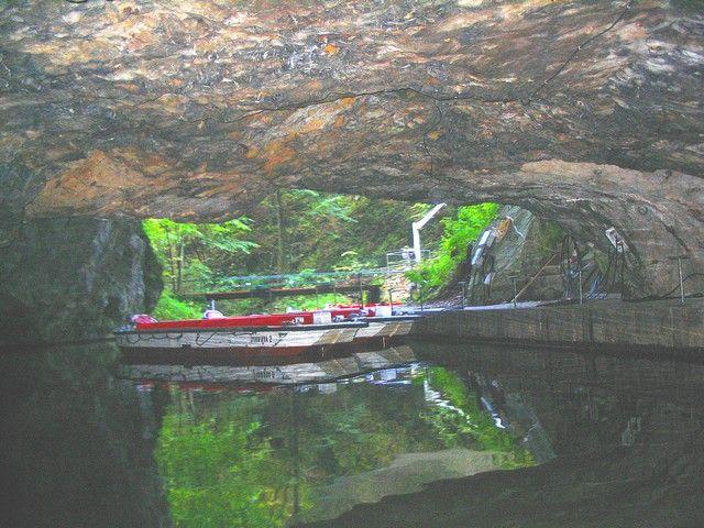 Zdjęcia: Morawski Kras, Morawy, w jaskini, SłOWACJA