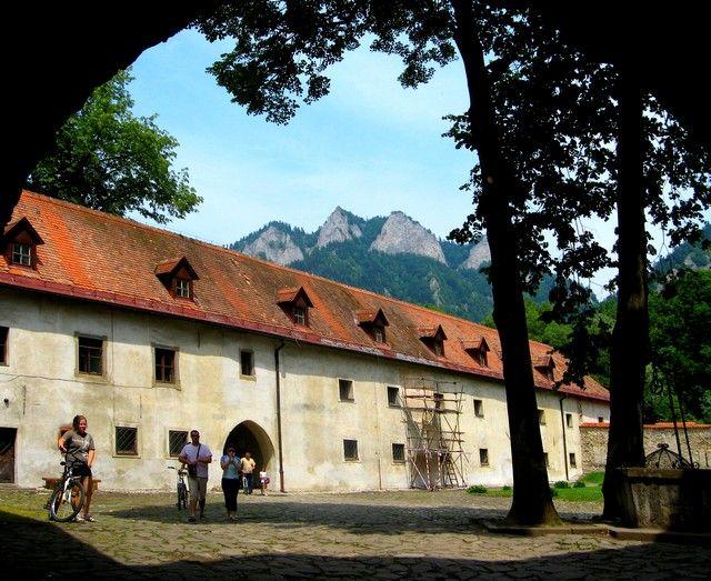 Zdj�cia: Czerwony Klasztor, Pieniny, klasztor, S�OWACJA