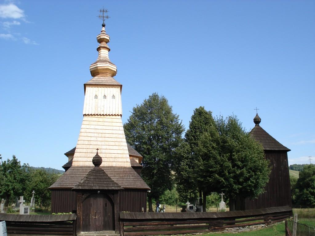 Zdjęcia: Ladomirova, Kraj preszowski, powiat Svidnik, Cerkiew w Ladomirovej, SłOWACJA