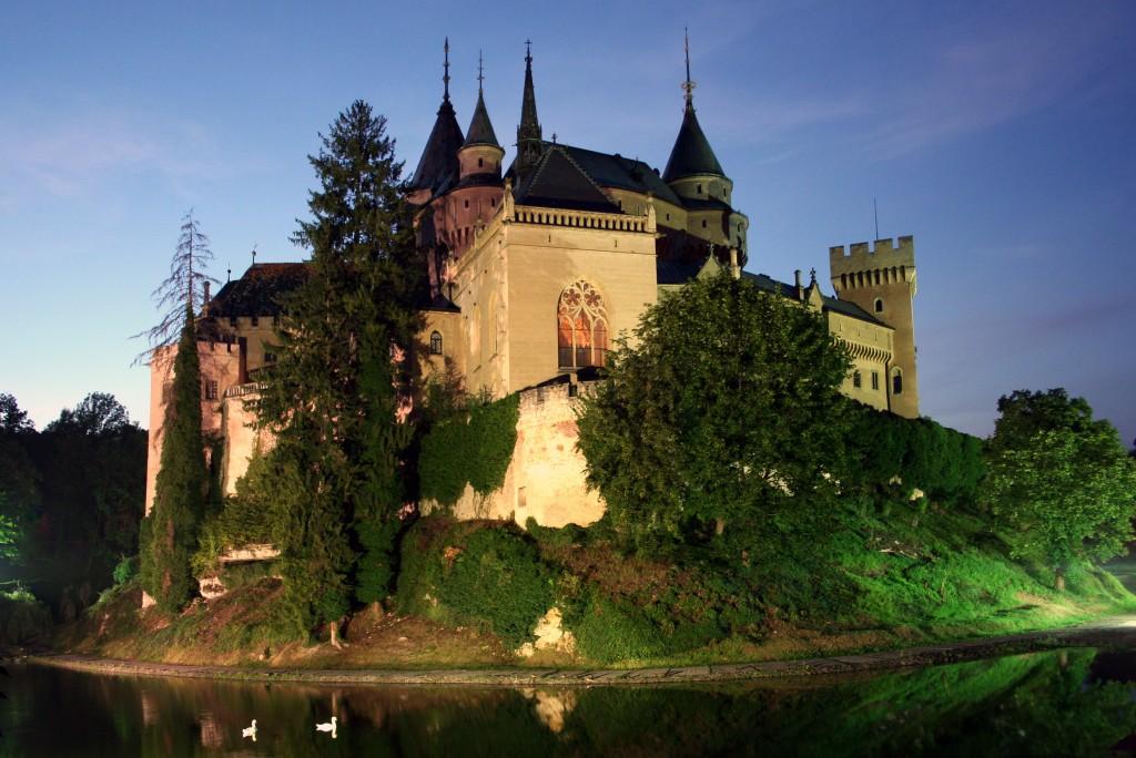 Zdjęcia: Bojnicki Zamek, Bojnice, Nocny portret zamku , SłOWACJA