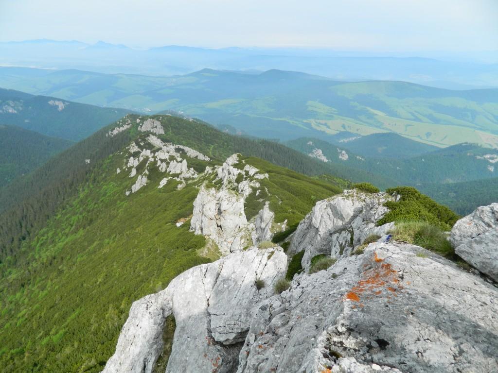 Zdjęcia: gdzieś na szlaku, tatry zachodnie, grań na SIWY WIERCH, SłOWACJA