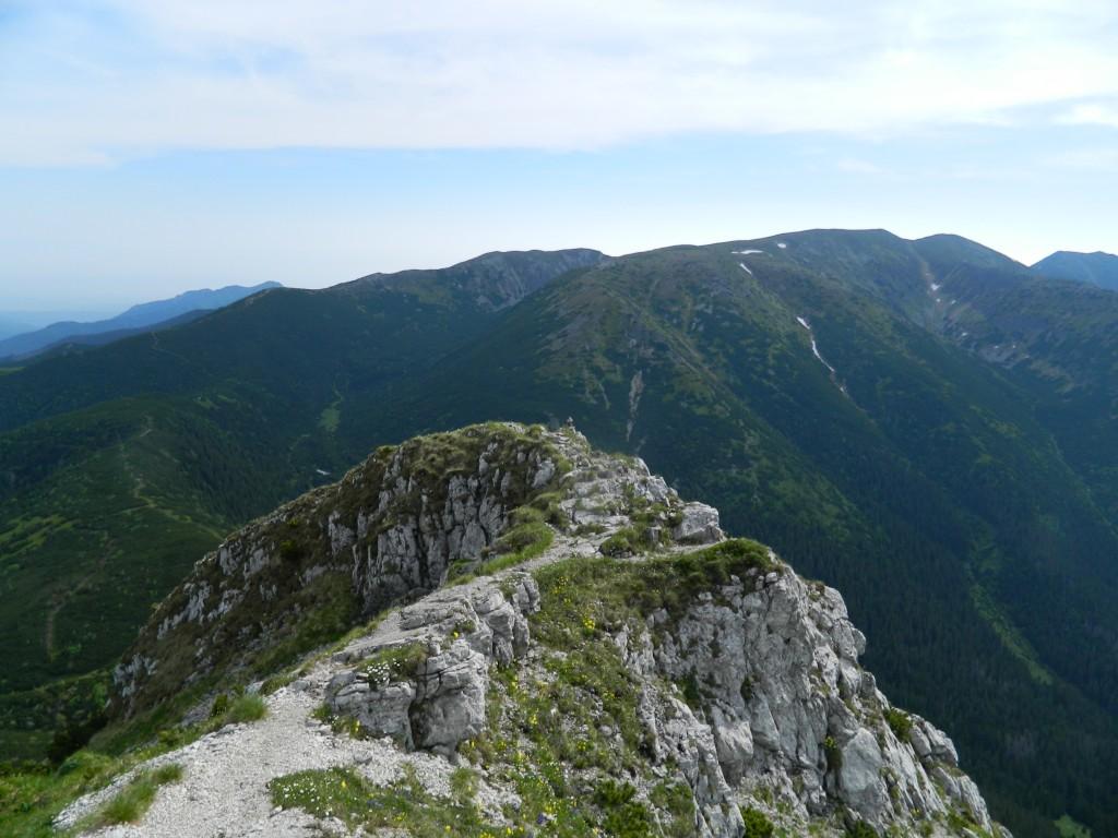 Zdjęcia: gdzieś na szlaku, tatry zachodnie, widok  z Siwego Wierchu, SłOWACJA