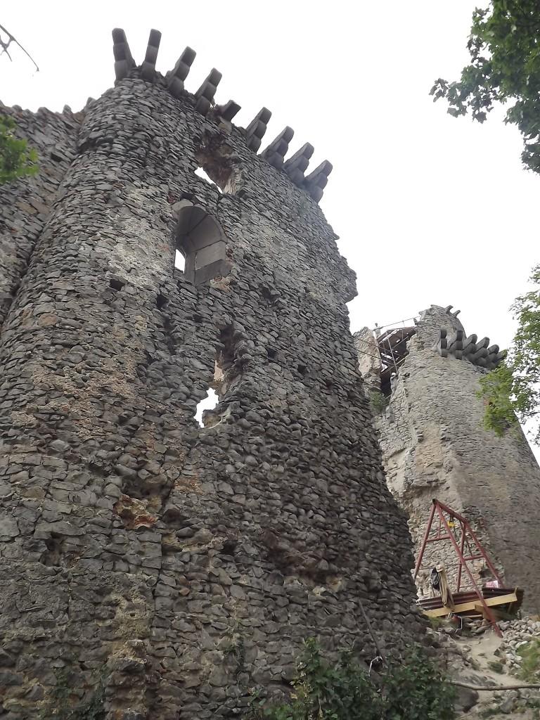 Zdjęcia: Slanec, Góry Tokajsko-Slańskie, Slański Zamek , SłOWACJA
