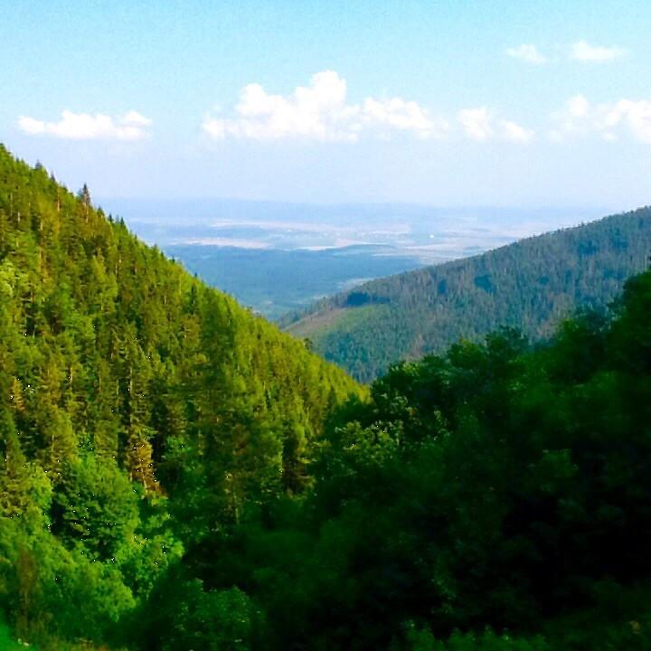 Zdjęcia: W drodze do Zielonego Stawu, Tatry Bielskie, Gdzieś w oddali Poprad, SłOWACJA