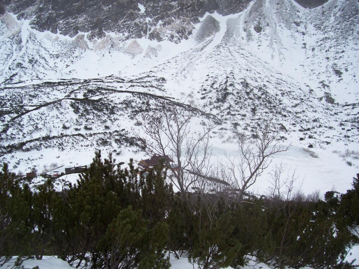 Zdjęcia: Dolina Kieżmarska / Dolina Zeleneho Plesa (okolica Schroniska nad Zielonym Stawem) , Tatry zimą, SłOWACJA