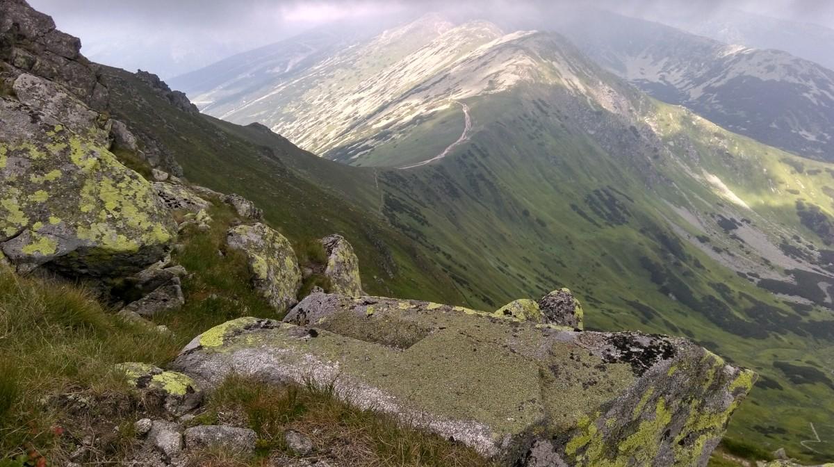 Zdjęcia: na szlaku..., tatry niskie, oddech gór..., SłOWACJA